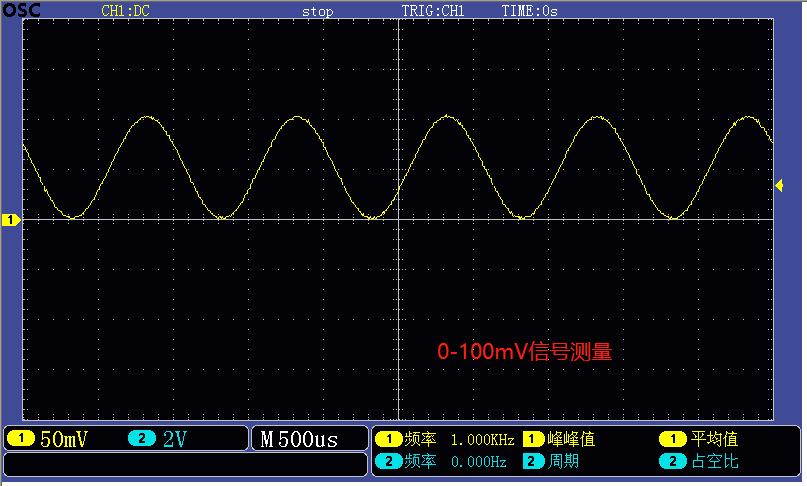 100mV信号测量.png